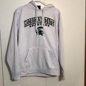 MSU white hoodie